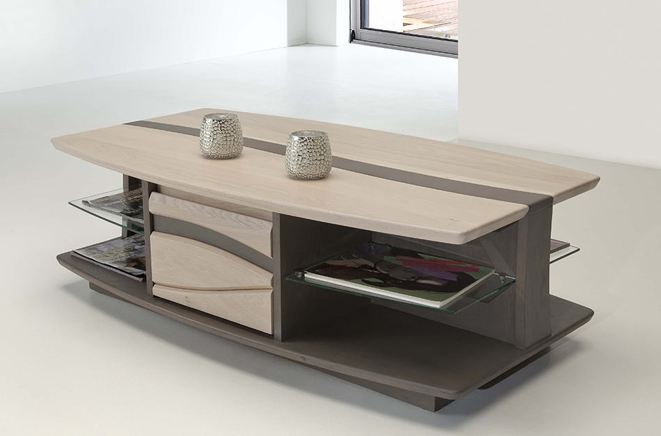 Table basse originale design verseau for Architecture originale