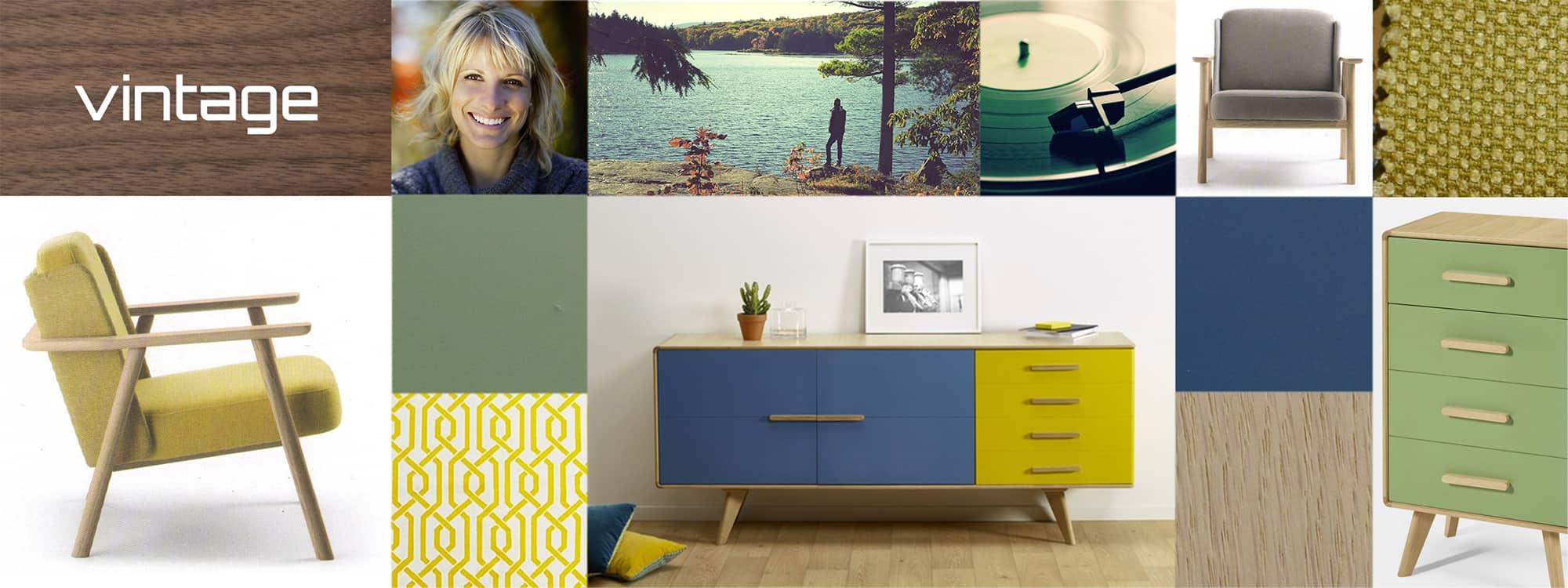 Atmosphere vintage meuble contemporain fabricant de for Atmosphere meuble