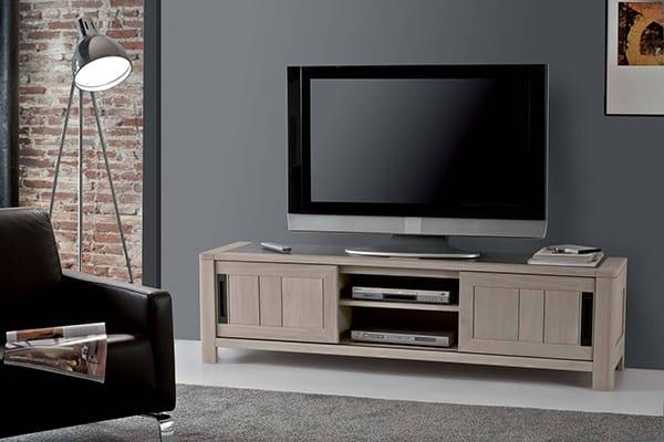 Collection deauvil meuble atelier industrielle vazard home - Grand meuble tele ...
