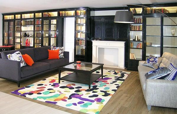 biblioth que modulaire urban chic vazard. Black Bedroom Furniture Sets. Home Design Ideas