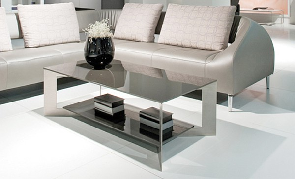 karat table basse grise blanche atmosphere contemporain meuble contemporain fabricant de. Black Bedroom Furniture Sets. Home Design Ideas