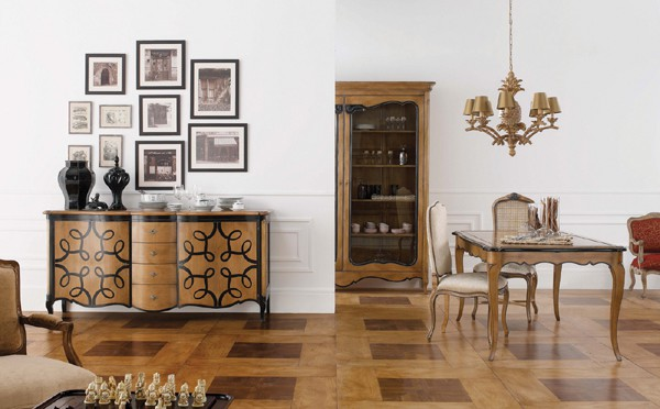 Collection louis deco salle a manger classique vazard home - Ambiance salle a manger ...