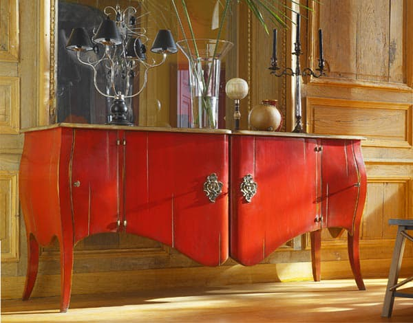 Collection Marquise  Buffet design  Vazard home -> Enfilade Rouge
