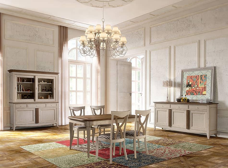 Collection pauline s jour romantique vazard home for Salle a manger romantique