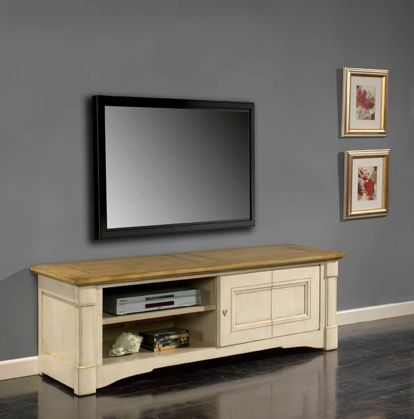 Collection Vendôme  Buffet classique Vazard home -> Meuble Tv Qui Se Ferme A Clef