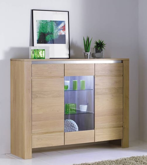 collection yucca buffet contemporain naturel bois. Black Bedroom Furniture Sets. Home Design Ideas