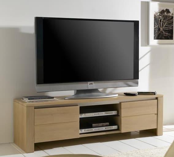 Collection yucca buffet contemporain naturel bois - Meuble tv en chene naturel ...
