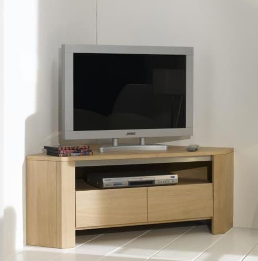 Collection yucca buffet contemporain naturel bois for Meuble tv qui se ferme a cle