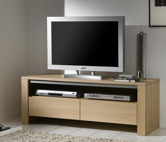 Meuble Tv Blanc Peu Profond ~ Idées De Design D\'intérieur
