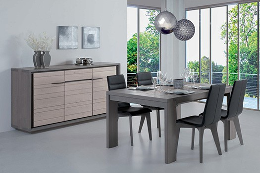 Collection zen meuble ch ne naturel vazard home for Deco zen salon salle a manger