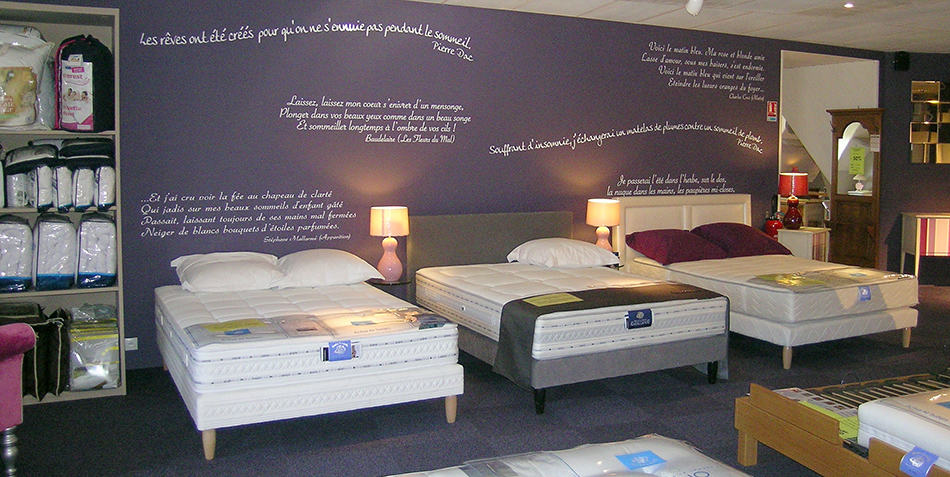 espace literie cgmrotterdam. Black Bedroom Furniture Sets. Home Design Ideas