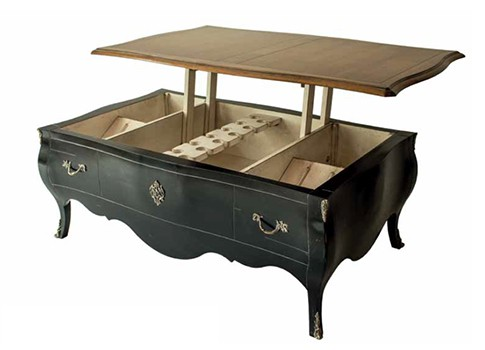 table basse bar fronsac vazard. Black Bedroom Furniture Sets. Home Design Ideas
