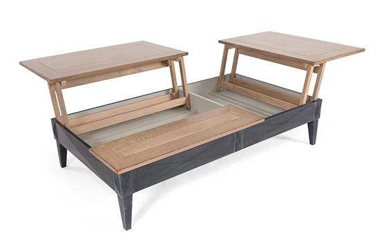 design intemporel 95e72 624ad Table basse à réhausse DIAMANT Ralph M   Vazard