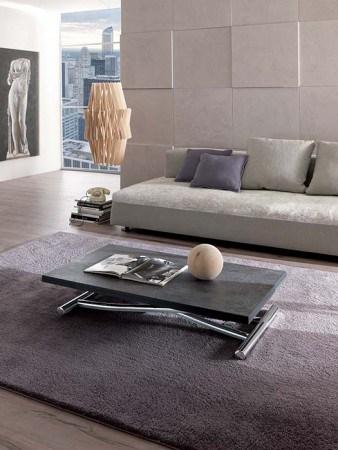 table basse transformable mondial ozzio vazard. Black Bedroom Furniture Sets. Home Design Ideas