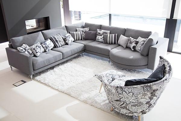 canap d 39 angle opera fama vazard. Black Bedroom Furniture Sets. Home Design Ideas