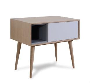 table-de-chevet-enkel-bois-beige-contemporain - Meuble contemporain ...