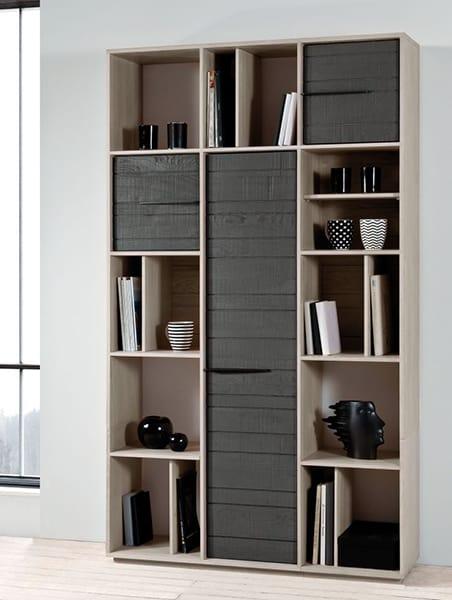 biblioth que colonne zen vazard. Black Bedroom Furniture Sets. Home Design Ideas
