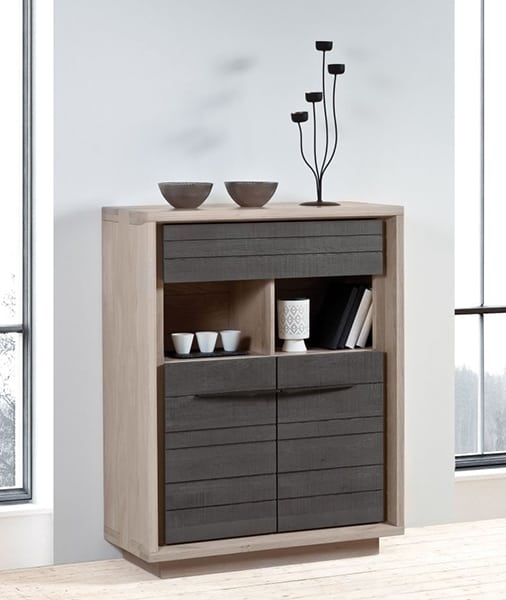 zen naturel meuble entree bois massif