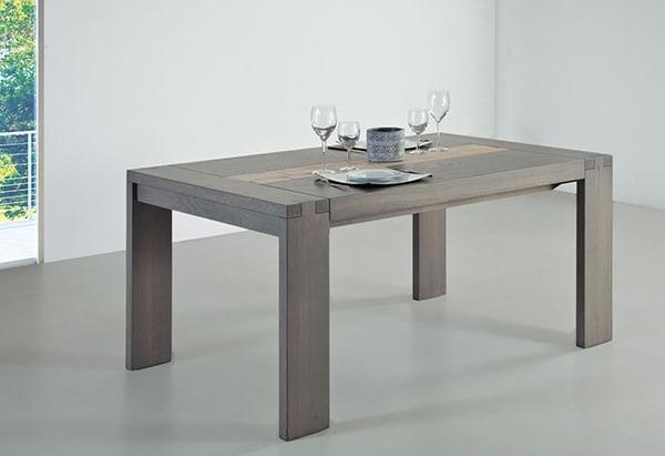 Table bois zen for Meuble zen home