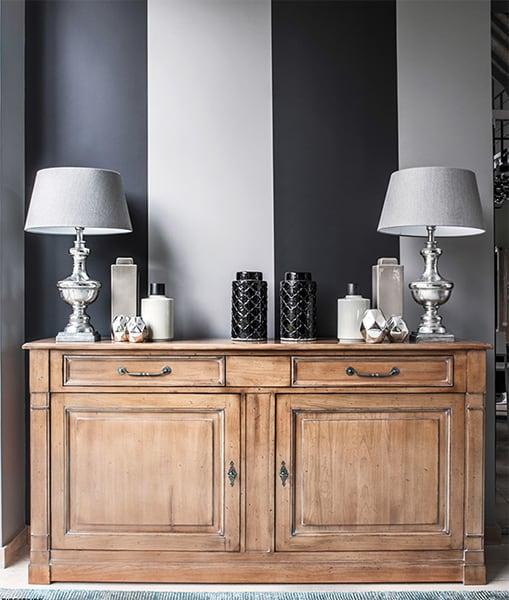 buffet directoire vazard. Black Bedroom Furniture Sets. Home Design Ideas
