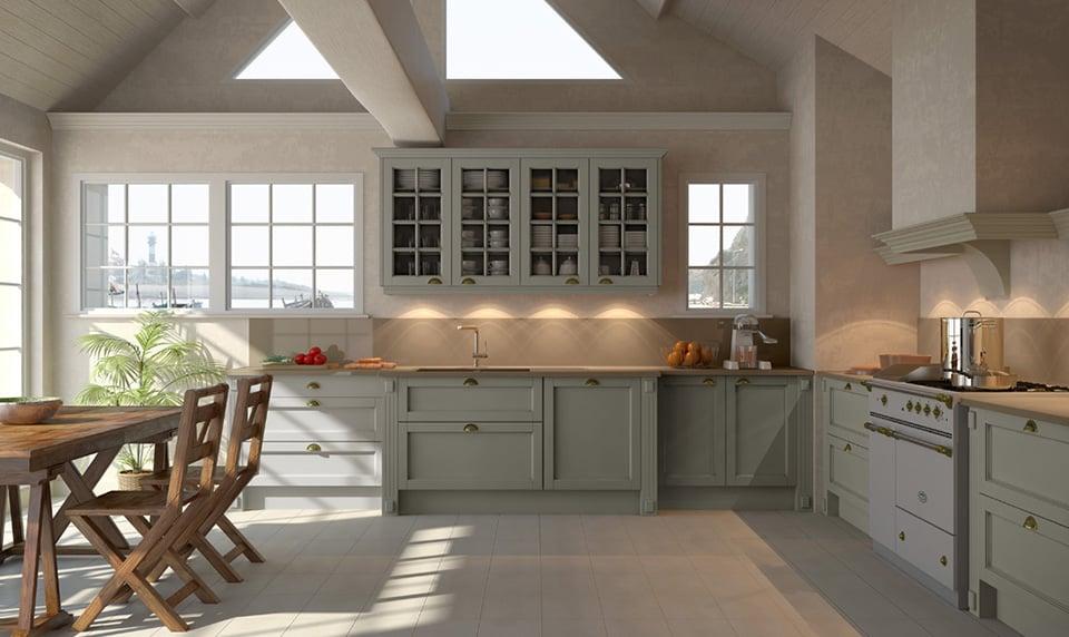 cuisine-celtis-cornouaille-gris - meuble contemporain - fabricant de