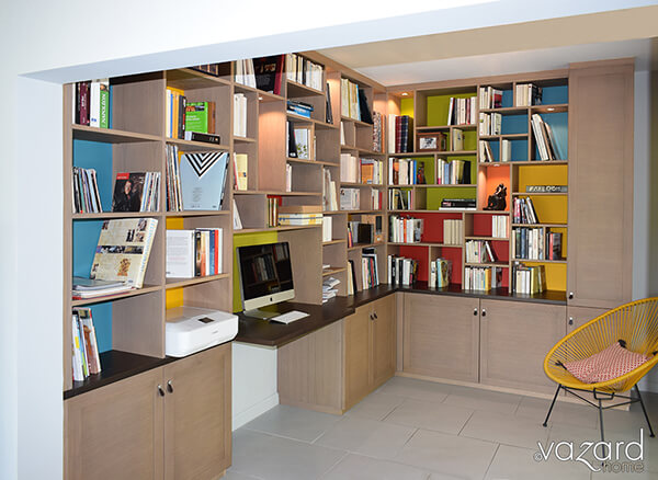 bibliotheque-design-sur-mesure-fond-couleurs-vazard-home