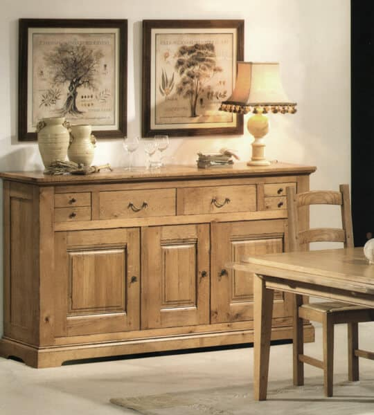 Collection cabourg buffet ch ne rustique vazard home for Les aubaines meubles
