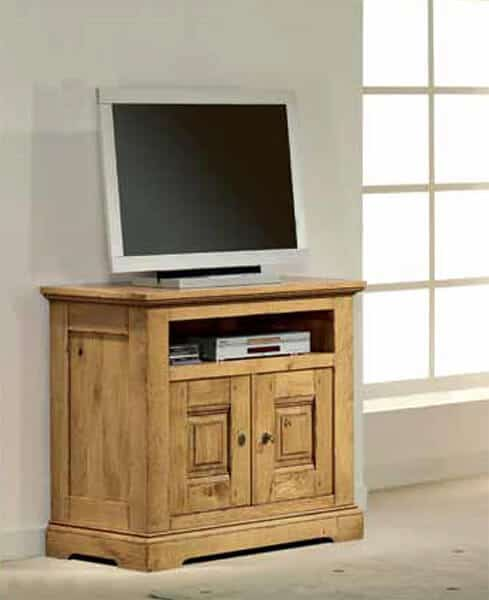 Meuble tv cabourg vazard - Meuble tele rustique ...