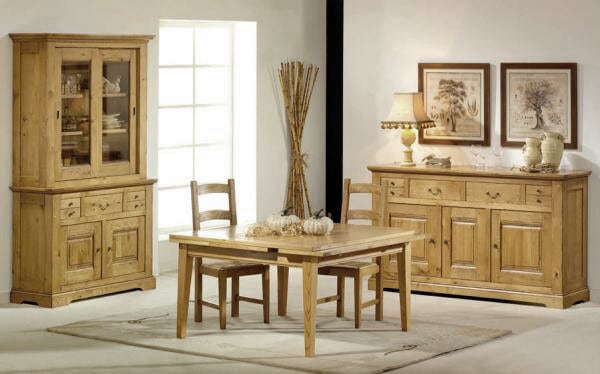 Collection Cabourg Buffet Chene Rustique Vazard Home
