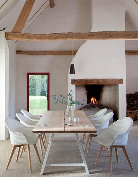 chaise-avril-oak-blanche-vincent-sheppard