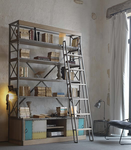 biblioth que ouverte atelier vazard. Black Bedroom Furniture Sets. Home Design Ideas