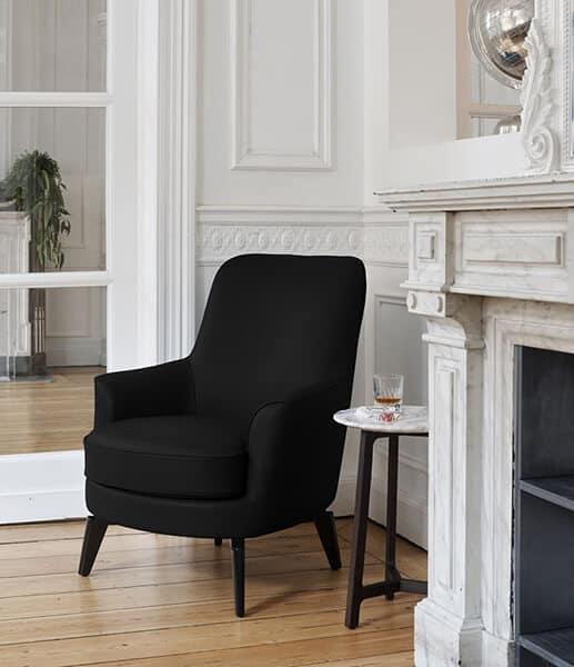 fauteuil-monceau-tissu-noir-burov