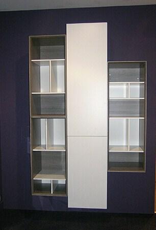 Biblioth que basic hangar meuble contemporain for Bibliotheque meuble contemporain