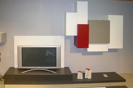 Aubaines meuble contemporain fabricant de meubles for Meuble tele fin