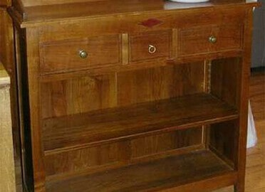 bibus en merisier meuble contemporain fabricant de