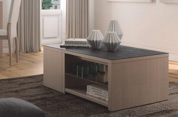 table basse bar coffre c ramique norway extensible vazard. Black Bedroom Furniture Sets. Home Design Ideas
