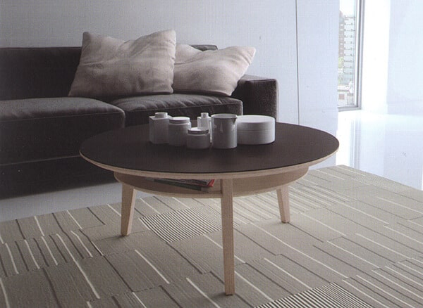 table basse ronde c ramique norway vazard. Black Bedroom Furniture Sets. Home Design Ideas