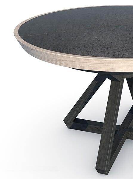 Table Ronde Céramique ROVATO
