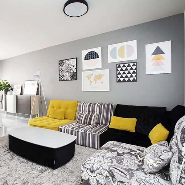 canap d 39 angle arianne fama vazard. Black Bedroom Furniture Sets. Home Design Ideas