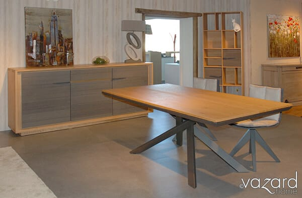 zen salle a manger naturel showroom vazard home