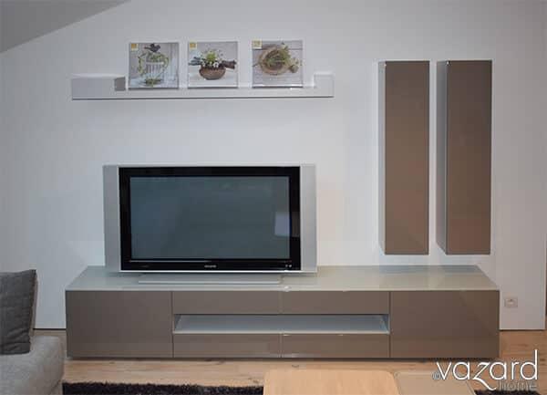 meuble tv karat vazard. Black Bedroom Furniture Sets. Home Design Ideas