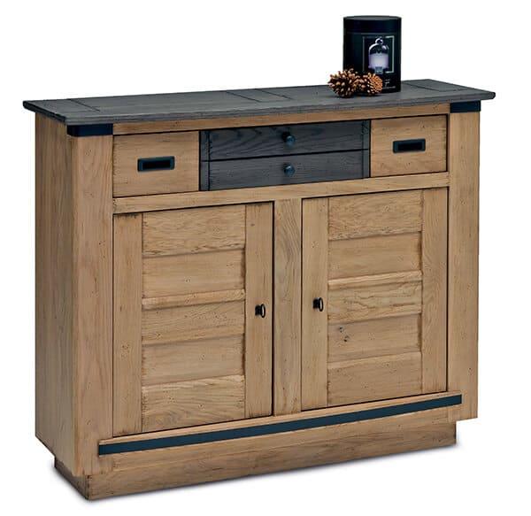 collection rustique campagne chene vazard. Black Bedroom Furniture Sets. Home Design Ideas