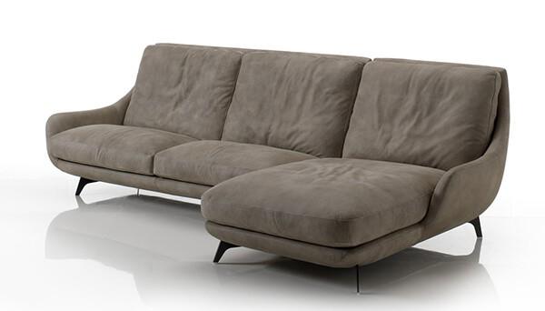 canap cuir conchiglia gorini vazard. Black Bedroom Furniture Sets. Home Design Ideas