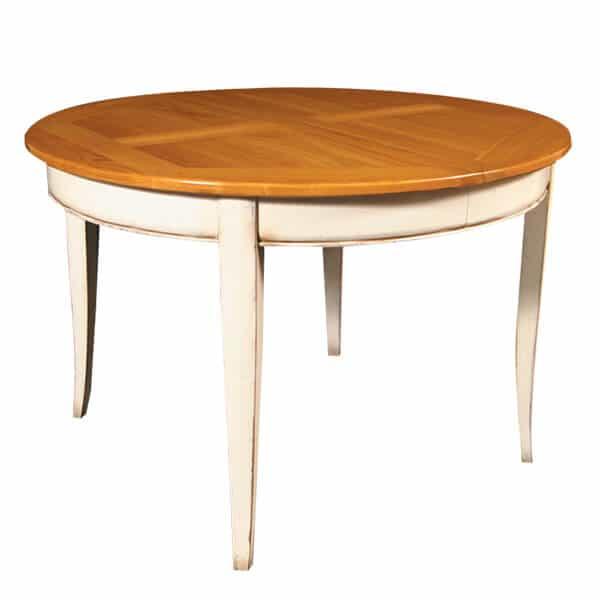 table ronde ovale tradition vazard. Black Bedroom Furniture Sets. Home Design Ideas