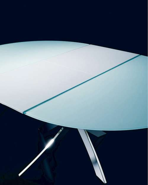 Table Ronde Pied Central BARONE