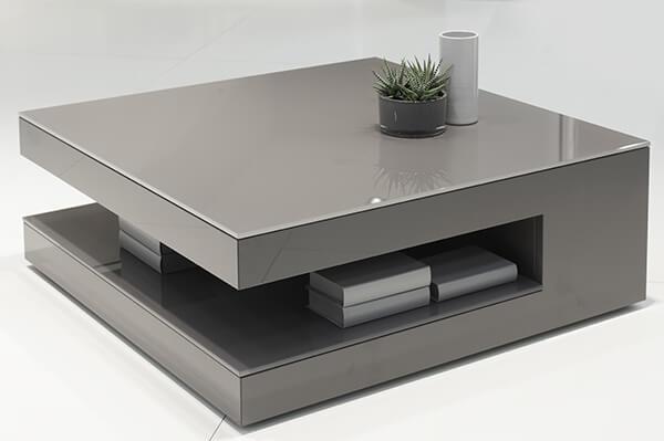 Emejing Mobilier Laque Contemporain Table Basse Pictures - House ...