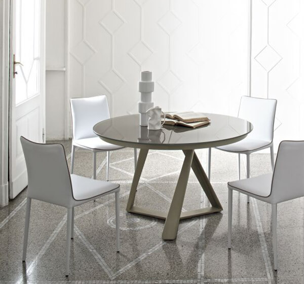 table-rond-millennium-beige