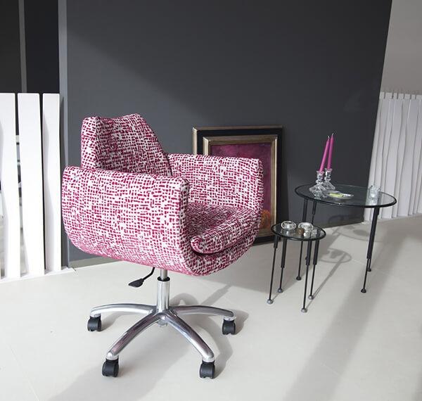 chaise-de-bureau-magno-tissu-rose-fama