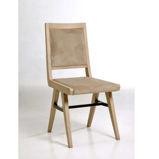 Chaise Chene Pied Compas P1 Industry