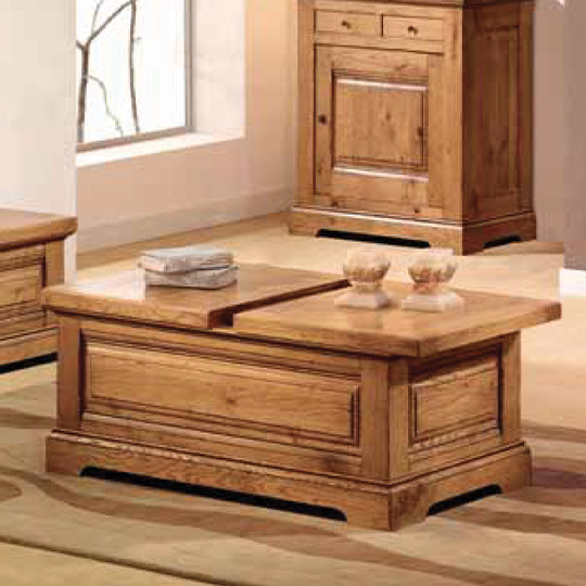 Table Basse Rustique Cabourg